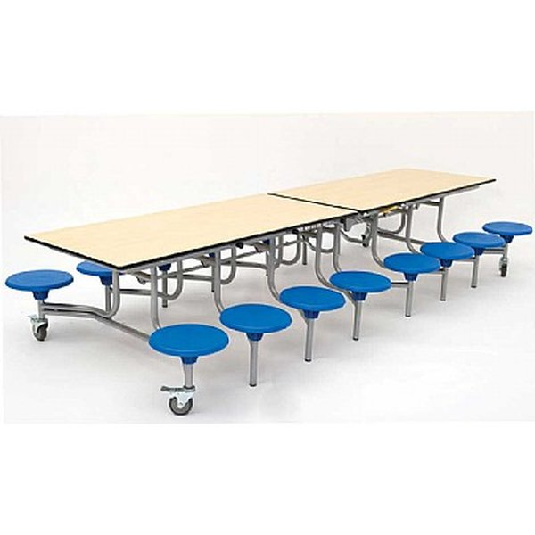 Folding school table