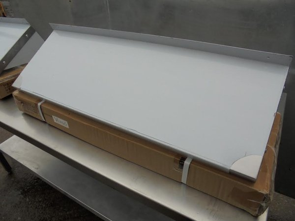 Stainless Steel Wall Shelf. Comes With Upstand And Brackets (4850) - Bridgwater, Somerset
