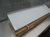 Stainless Steel Wall Shelf. Comes With Upstand And Brackets (4851) - Bridgwater, Somerset