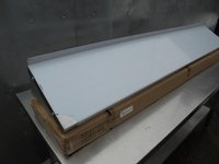 Stainless Steel Wall Shelf. Comes With Upstand And Brackets (4853) - Bridgwater, Somerset