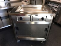 Lincat Hot Cupboard with Gastro tray Front