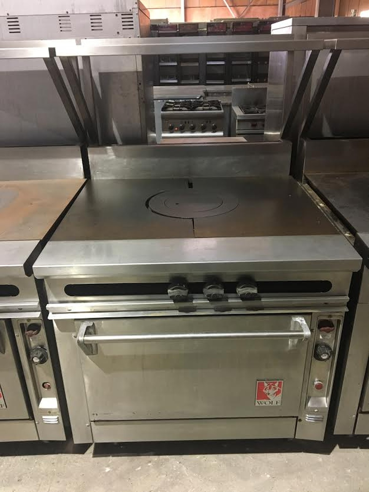Uncategorized Wolf Kitchen Appliances Uk secondhand catering equipment gas range cookers wolf solid top ranges lancashire 1