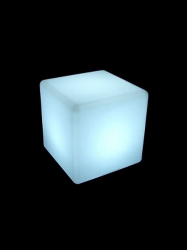 Illuminating Cube Single Seats
