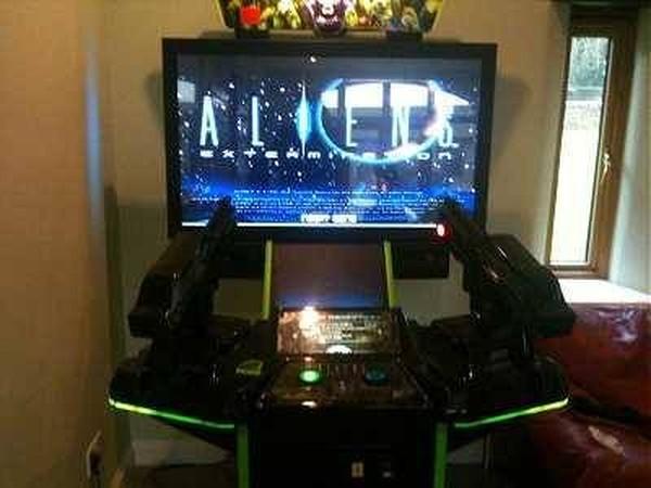 Buy Aliens Extermination Deluxe Arcade Machine