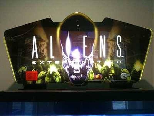 Buy Used Aliens Extermination Deluxe Arcade Machine