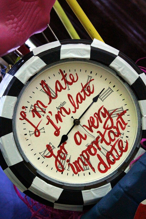 Alice in Wonderland Clock