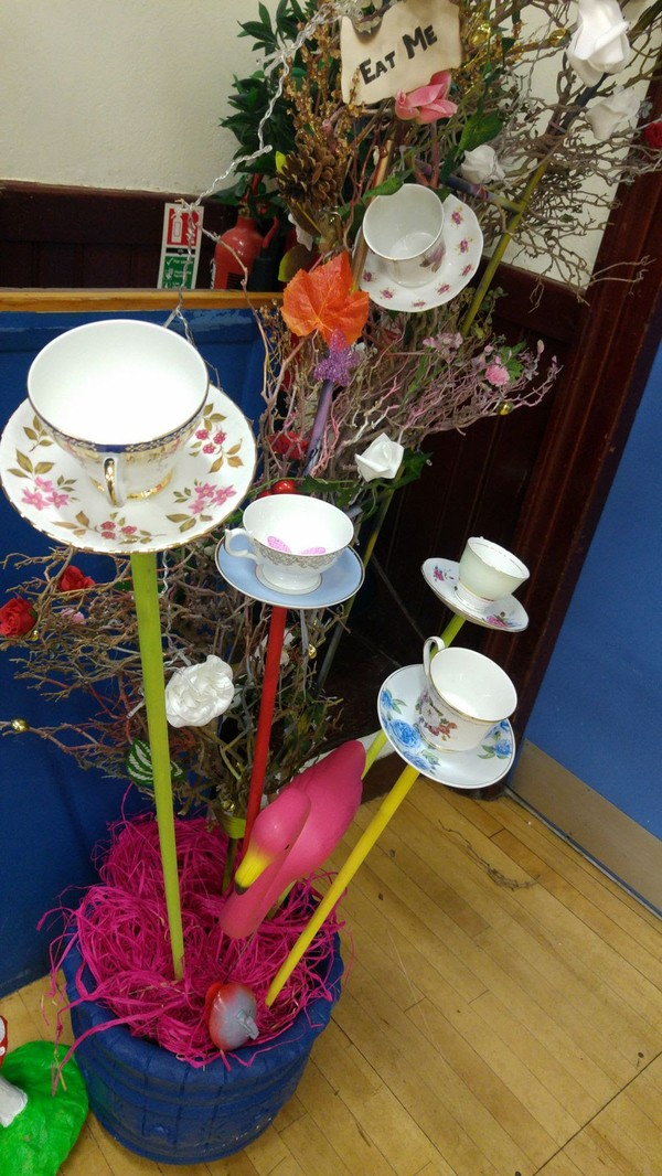 Alice in Wonderland Tea Cups