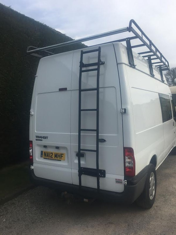 Ford Transit Crew Van Back
