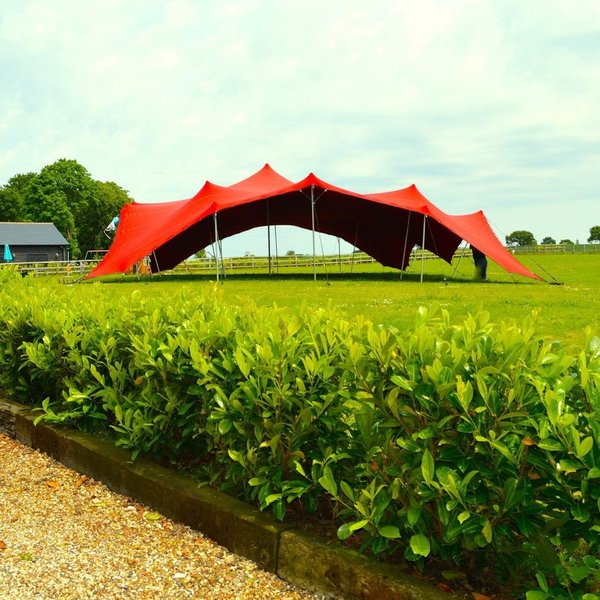 Red Bedouin Stretch Tent