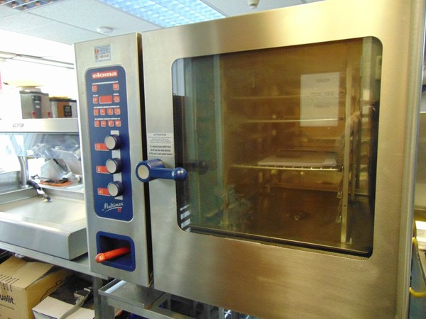 Eloma Multimax 6 Grid Conbi Oven Front