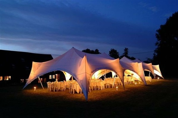 Capri Marquee Style at Night