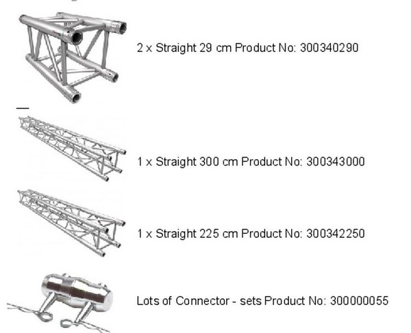 Square Truss Archway Parts