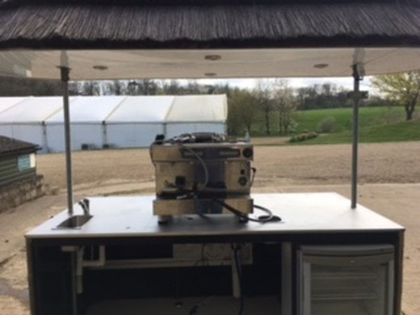 Mobile Bar Unit Back