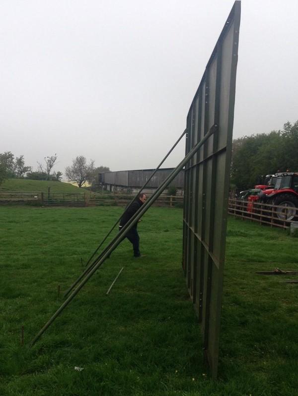 Hoarding Panels, 2M X 3M,
