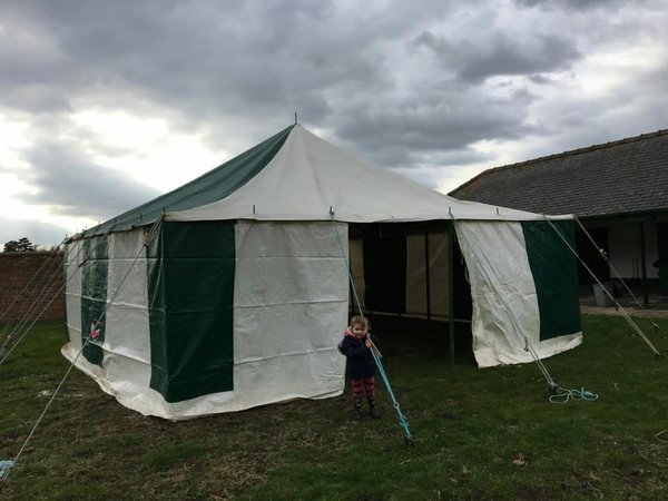 Traditional 20' x 20' marquee for sale