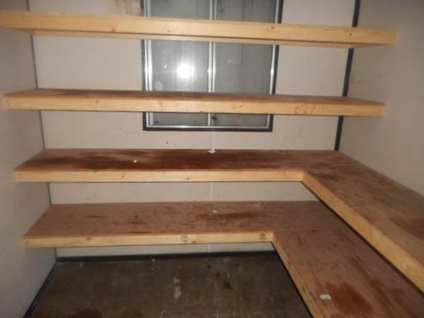 Portable Office Interior Shelves