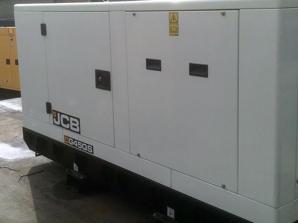 JCB Diesel Generator Back
