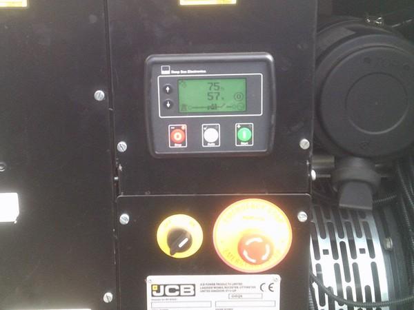 JCB Diesel Generator Display