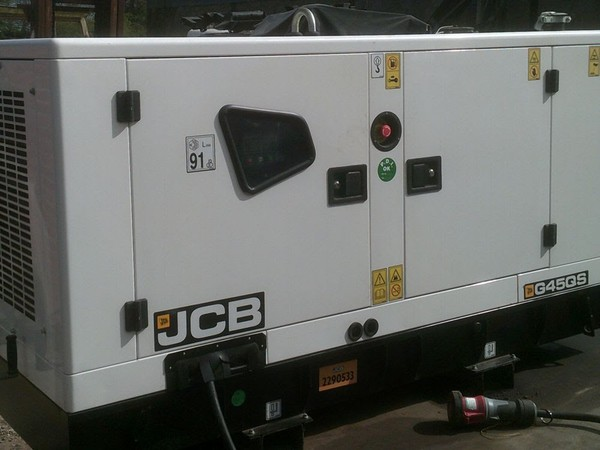 JCB Diesel Generator Front