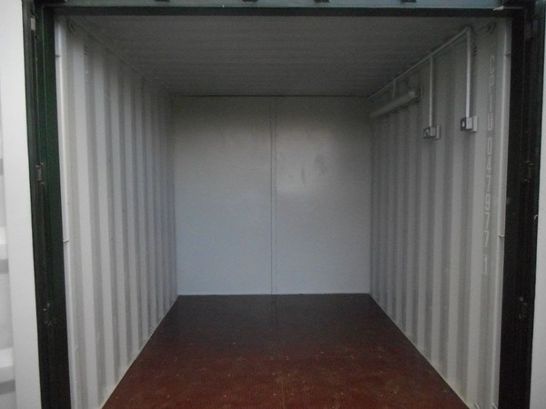 20'x8' Anti Vandal Office Shipping Container Portable Building Site Store 50/50