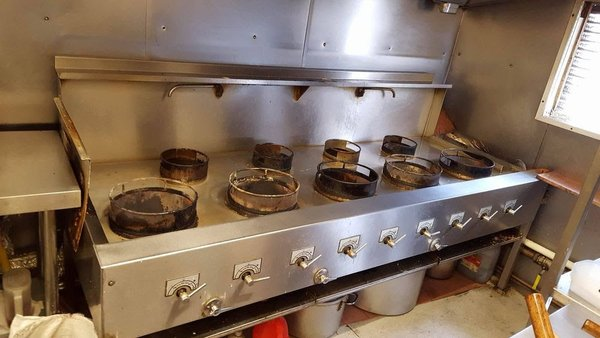 Industrial Nine Wok Burner (Gas)