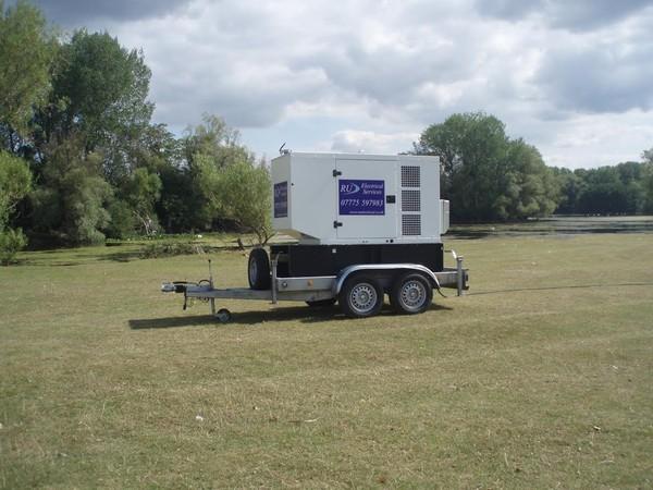 Road tow Generator 66 Kva SDMO