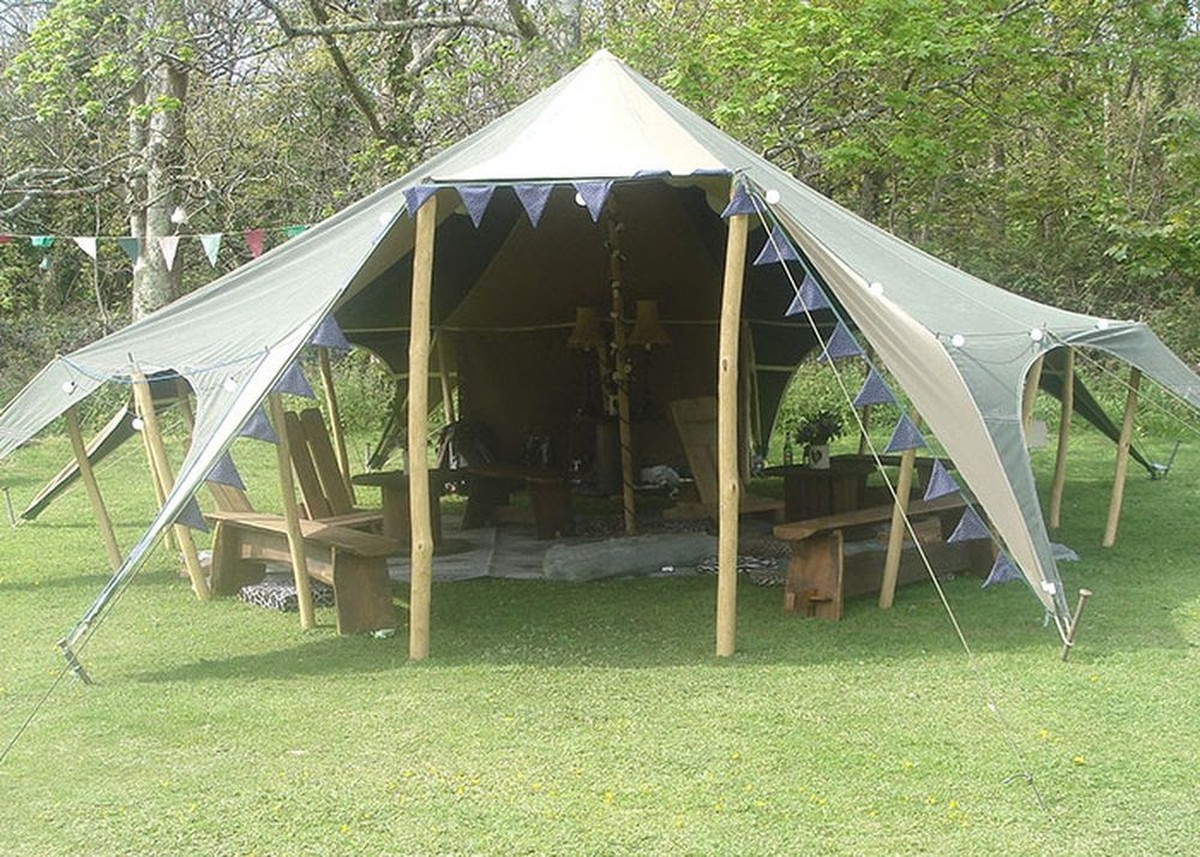 Canvas Tent & Curlew - SecondHand Marquees | Unusual Marquees