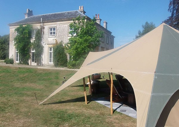 Canvas Tent Garden