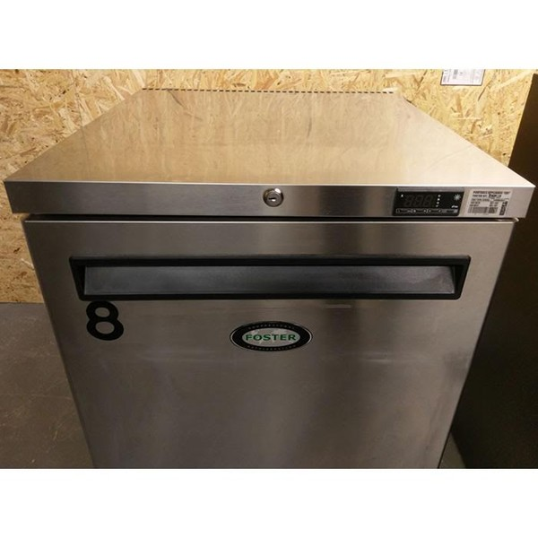 Stainless Steel Fosters HR150-A Undercounter Refrigerator Front
