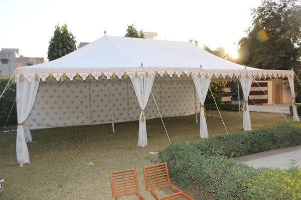 Indian Maharaja Tent Open