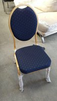 6 x New Ali Style Gold And Blue Seat