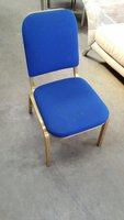 40 x Blue Stacking Chairs