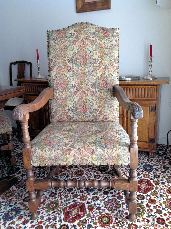 Quality Solid Oak Chair
