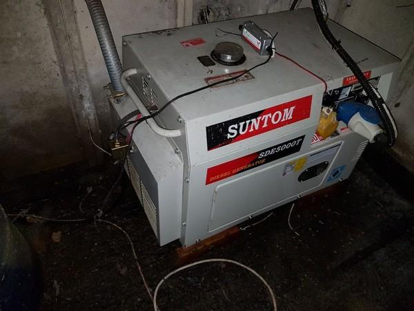 Second-hand Suntom Diesel  generator
