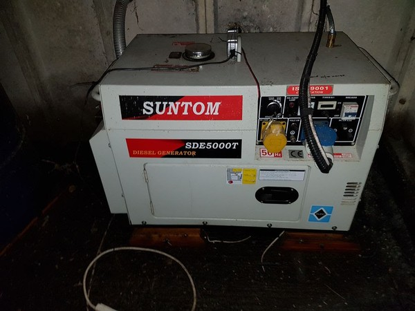 Second-hand Suntom Diesel generator