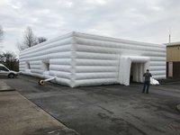 Large White inflatable marquee With Fans