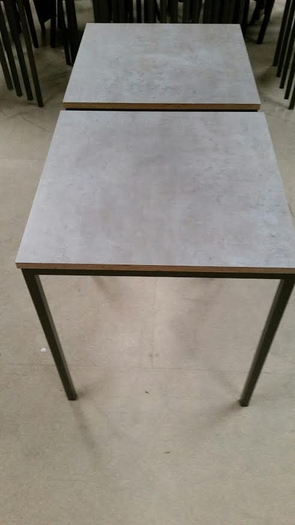 High Slate Laminate Top Tables