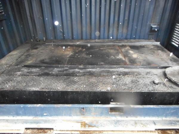 Anti-Vandal Generator Store Portable Building Powercell Bunded Fuel Tank Floor