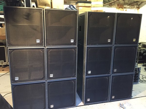 sound system rack. hk audio r-series pa system complete with amp rack \u0026 cabling - norfolk sound