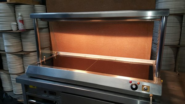 Hot display/carvery hot