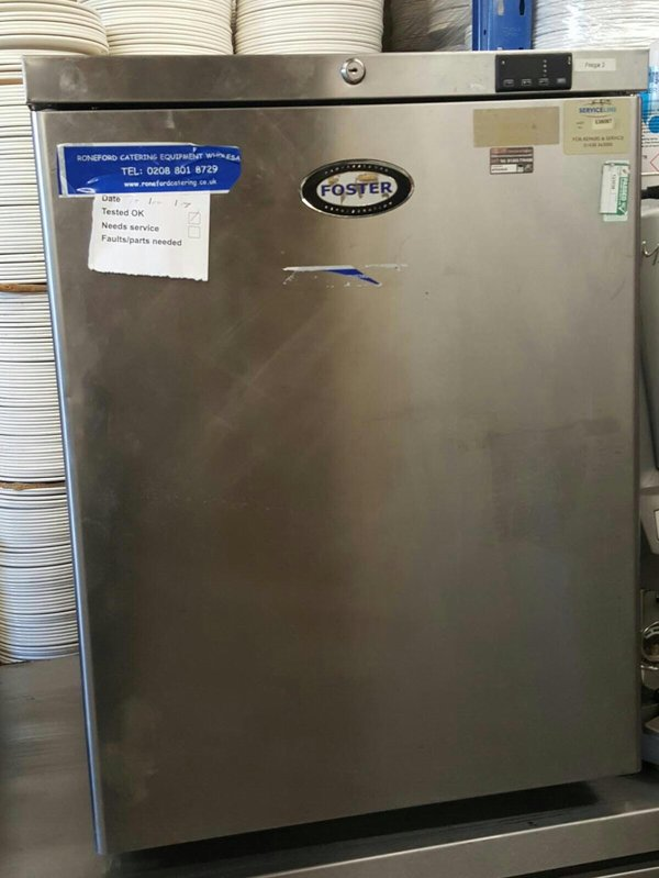 Single Door Foster Fridge
