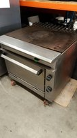 Solid Top Gas Cooker Griddle
