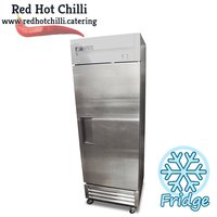 Silver True Upright Fridge GT-19E