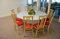 Red Padded Highback Dining/Banqueting Chairs