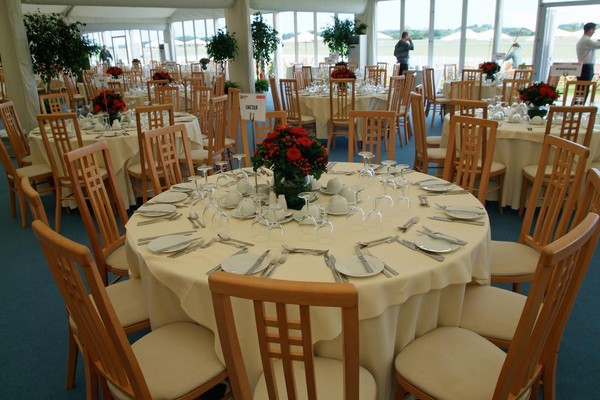 Creme Padded Highback Dining/Banqueting Chairs