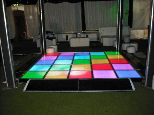multi coloured LED dance floor for sale