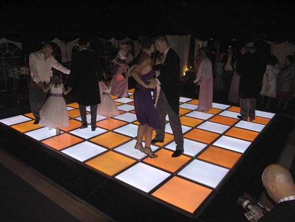 Wedding LED dance floor for sale