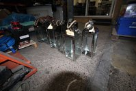 Metal Floor Lanterns