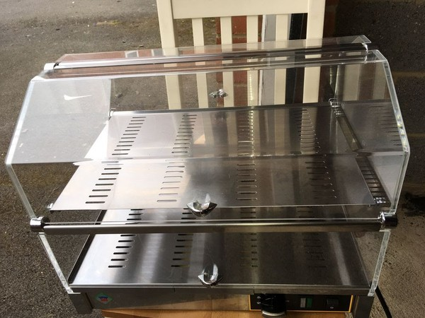 RM Gastro VEC520 Heated Display Case Double