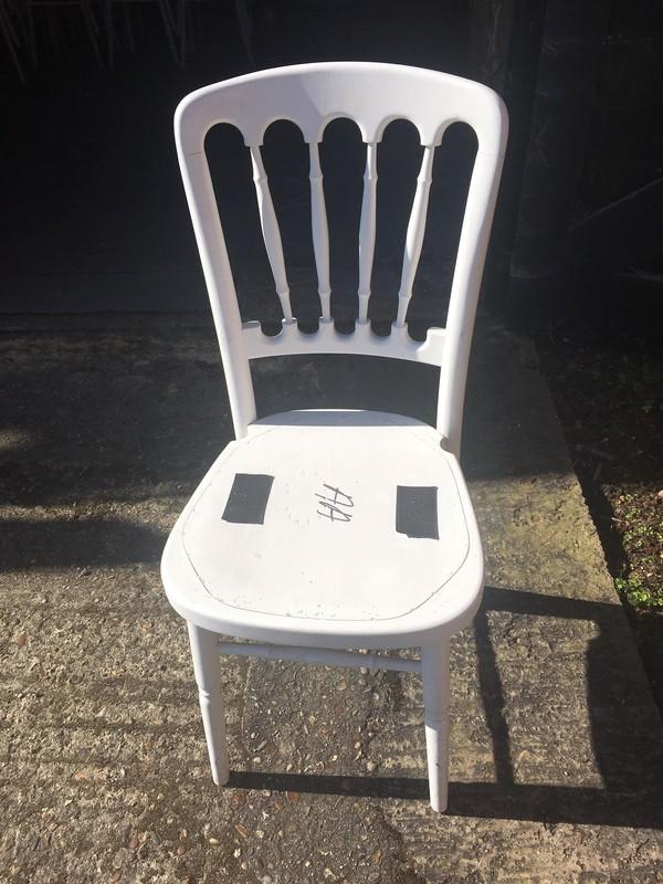 White Cheltenham Banquet Chair